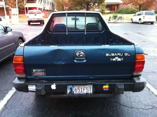 My 1986 Subaru Brat