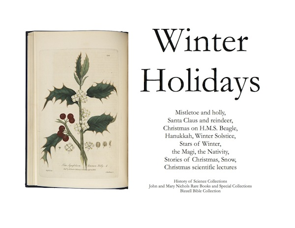 Winter holidays exhibit